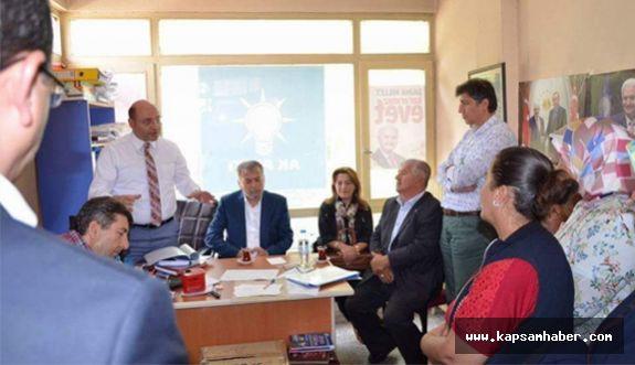 Şaphane AK Parti'de Temayül Yoklaması Yapıldı