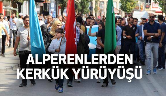 Sivas'ta Alperen Ocaklarından Kekük Yürüyüşü