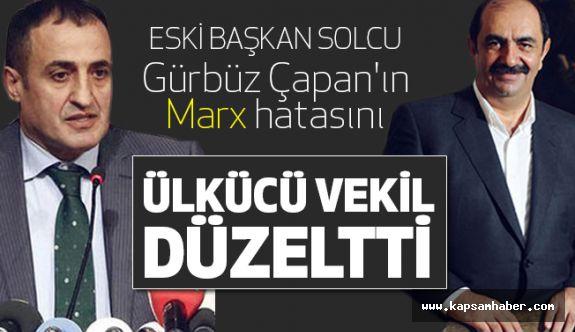 Solcu Başkan'ın Hatasını Ülkücü Milletvekili Düzeltti
