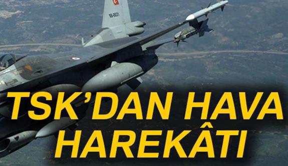 TSK'dan, Irak'ın Kuzeyine Hava Harekatı