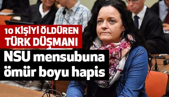 Türk Düşmanına Ömür Boyu Hapis