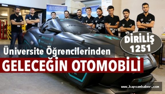 Üniversite Öğrencilerinden Geleceğin Otomobili
