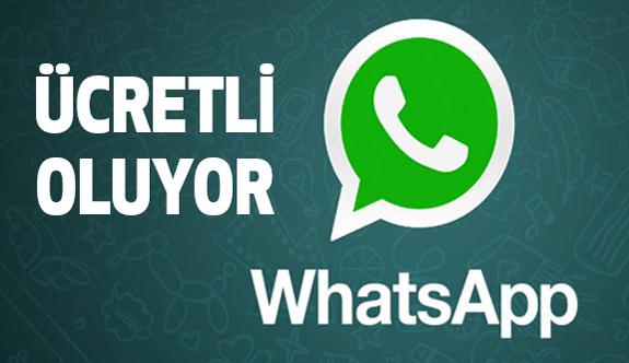 WhatsApp'tan Ücretli Oluyor