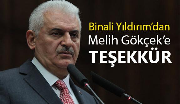 Binali Yıldırım, Ankara Belediye Başkanı Gökçek'e Teşekkür Etti