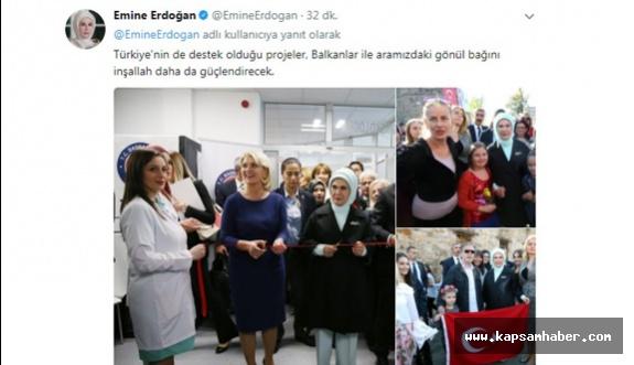 Emine Erdoğan'dan İlk Paylaşım