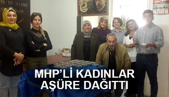 Gaziantep MHP'li Kadınlardan Aşure İkramı
