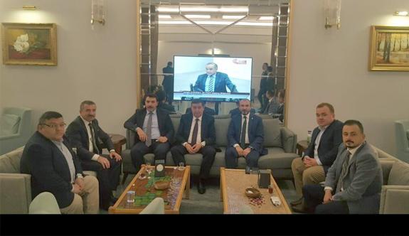 Havzalı Ak Partili Başkanlar Milletvekilleri ile buluştu