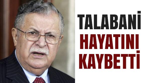 Irak eski Cumhurbaşkanı Talabani Öldü