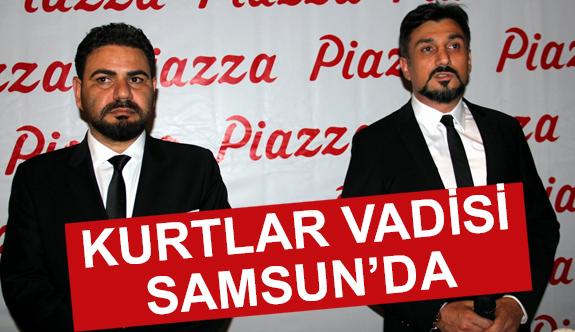 Kurtlar Vadisi Vatan Filminin Oyuncuları Samsun'da