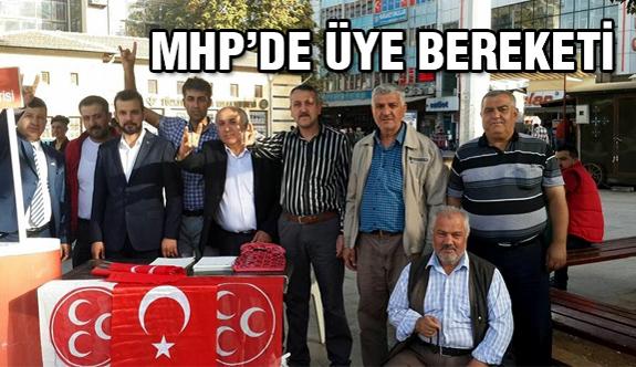 MHP'de Üye Patlaması