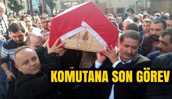 Samsun'da Komutana Son Görev