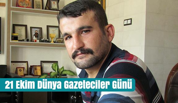 Şanlı, 21 Ekim Dünya Gazeteciler Günü'nü Kutladı