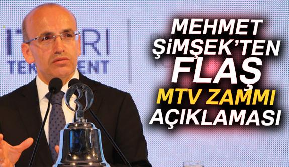 Şimşek'ten Flaş MTV Açıklaması