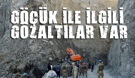 Şırnak'taki Göçükle İlgili 3 Gözaltı