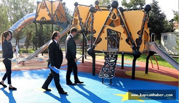 Tekirdağ'da Muhsin Yazıcıoğlu Parkı yenilendi