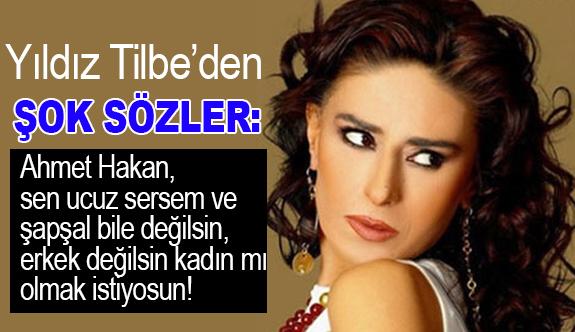 Yıldız Tilbe'den Ahmet Hakan'a Gün Görmemiş Sözler