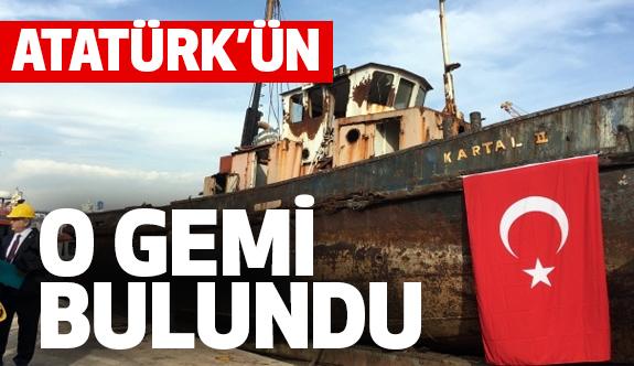 Atatürk'ün 'geldikleri gibi giderler' Dediği O Gemi Bulundu
