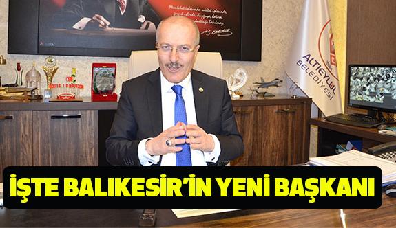 Balıkesir'in yeni belediye başkanı Zekai Kafaoğlu Oldu