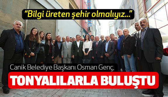 Osman Genç: Bilgi üreten şehir olmalıyız