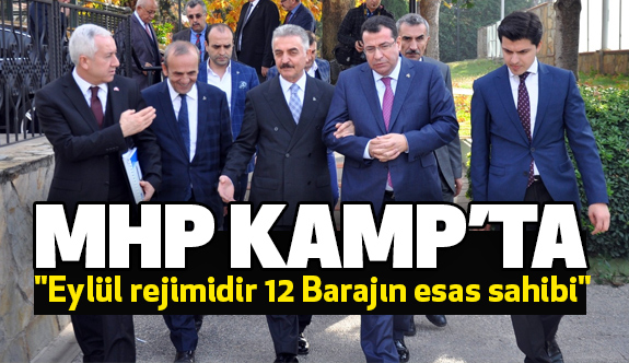 Bursa MHP, İznik'te Kampa Girdi