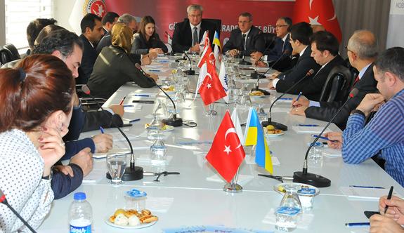 Büyükelçi Sybiha, Ukrayna'nın yatırım fırsatlarını Samsun'da Paylaştı