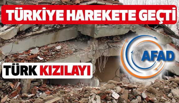 Depremin Ardından Türkiye Harekete Geçti