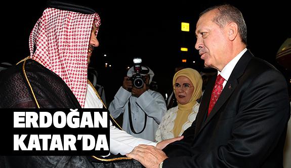 Erdoğan, Katar'ın Başkenti Doha'ya Gitti.