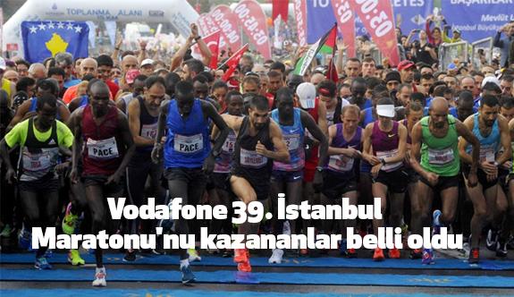 İstanbul Maratonu'nu kazananlar belli oldu