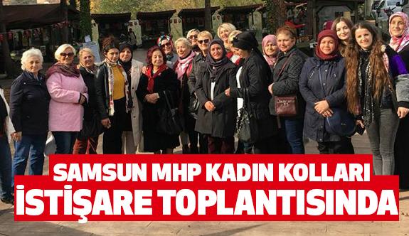MHP Kadın Kolları Samsun'da Atakta...