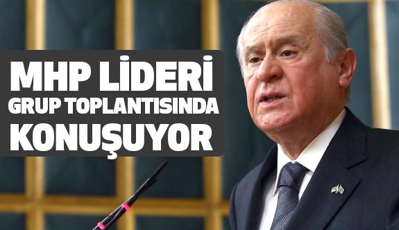 MHP Lideri Bahçeli Partisinin Grup Toplantısında Konuşuyor (CANLI)