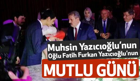 Muhsin Yazıcıoğlu'nun oğlunun mutlu günü