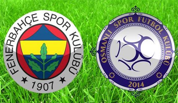 Osmanlıspor: 1 - Fenerbahçe: 1 (Maç sonucu)