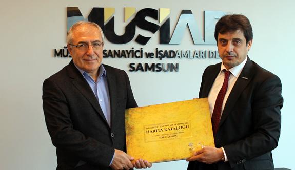 PTT BAŞMÜDÜRÜ'nden MÜSİAD'a İADE-İ ZİYARET