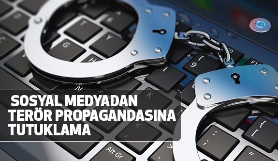 Adıyaman'da Sosyal medyadan Terör propagandasına tutuklama