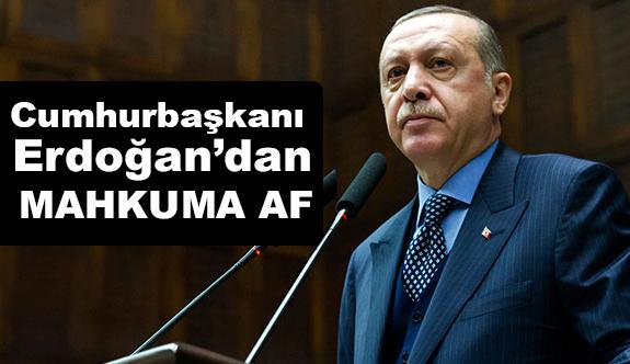 Cumhurbaşkanı Erdoğan'dan Af