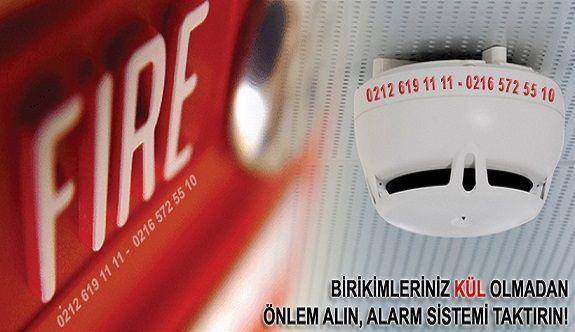 Desi Yangın Alarmı Sistemi