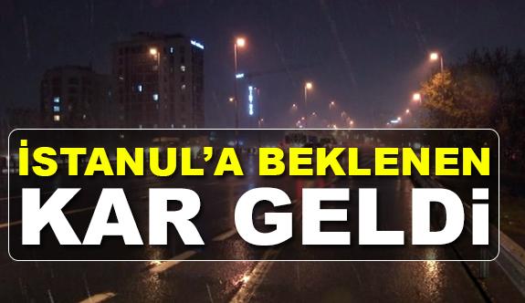 İstanbul'da Beklenen Kar Zamanında Geldi