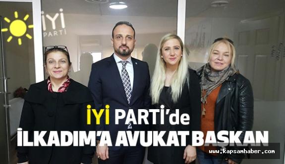 İYİ Parti İlkadım Kurucu İlçe Başkanı Ayşe Ayan oldu
