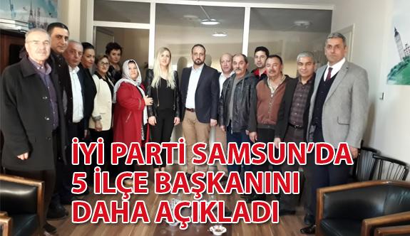 İYİ Parti Samsun İl Başkanı Süslü; 5 İlçe Başkanını Daha Açıkladı