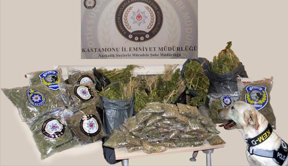 Kastamonu'da Şok Uyuşturucu Operasyonu