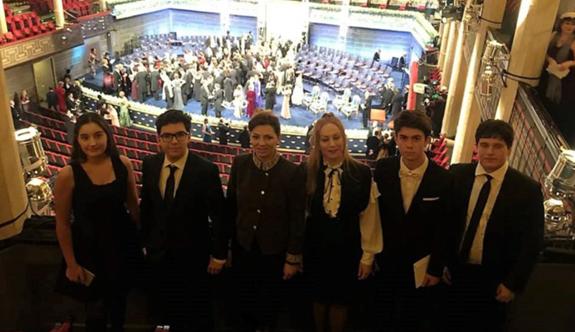Kültür Koleji ve  ve Kültür2000 Koleji Öğrencileri  Nobel'e Katıldı