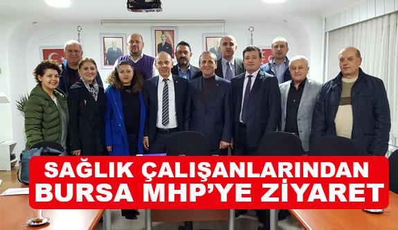 """MHP İl Başkanı Topçu, """"Sağlık Çalışanları Başımızın Tacı"""""""