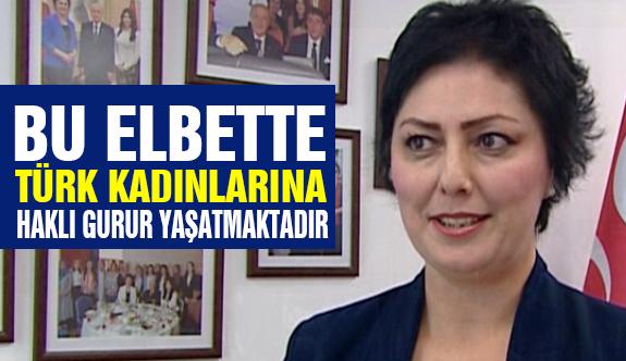 """MHP'li Taşlıçay'dan """"5 Aralık Türk kadınına seçme ve seçilme hakkı"""" Açıklaması"""