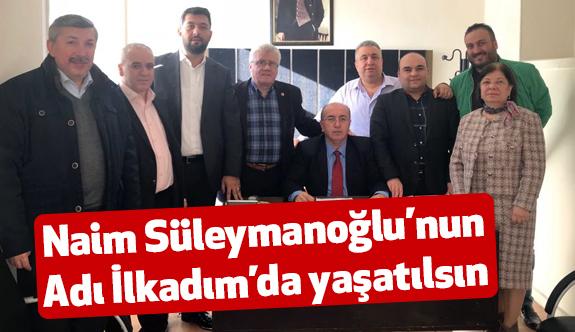 MHP Meclis Üyeleri: Naim Süleymanoğlu Adı İlkadım'da Yaşatılsın