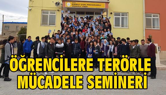 """Öğrencilere """"Terör"""" Semineri"""