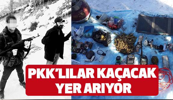 PKK'lı Teröristler Karadeniz'de Kaçacak Yer Arıyor!
