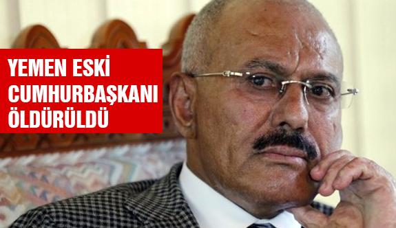 Yemen Eski Cumhurbaşkanı Öldürüldü!