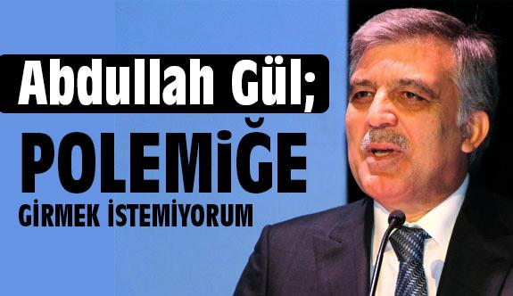 Abdullah Gül'den Cuma Sonrası Açıklama