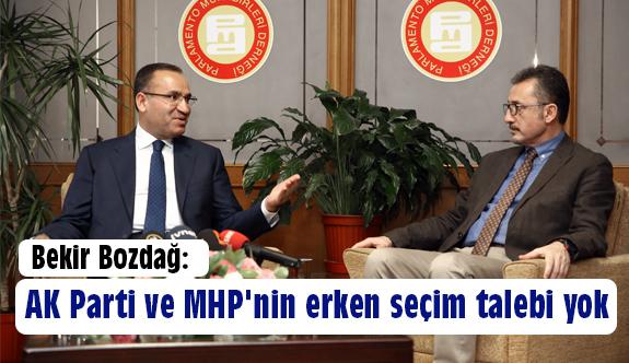 AK Parti ve MHP'nin Erken Seçim Talebi Yok