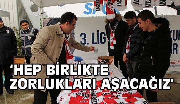 Atakum Belediyespor'dan Samsunspor'a Destek…